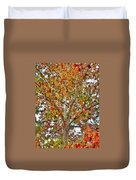 Falling Into Fall Duvet Cover