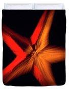 Falling Starfish One Duvet Cover