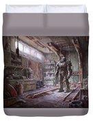 Fallout 4 Armour Duvet Cover