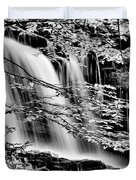 Falls And Trees Duvet Cover