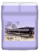 Falls Bridge Duvet Cover
