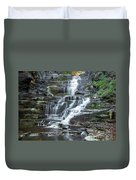 Falls Creek Gorge Trail Ithaca New York Duvet Cover