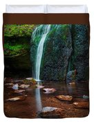 Falls In Bluff Country Duvet Cover