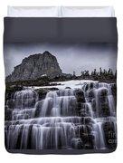 Falls In Glacier Duvet Cover