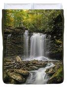 Falls Of Hills Creek 2  Duvet Cover