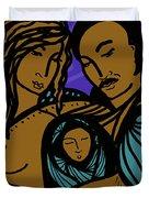 Family Is A Sanctuary Duvet Cover