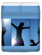 Family Of Man Duvet Cover
