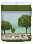 Family Of Trees. Duvet Cover