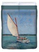 Family Sail Duvet Cover