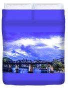 Famous Bridge Duvet Cover