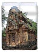 Famous Temple Banteay Srei Cambodia Asia  Duvet Cover