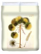 Fan Palm Duvet Cover