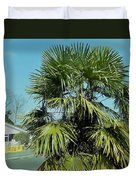 Fan Palm Tree Duvet Cover