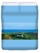 Fanad Lighthouse, Fanad, County Donegal Duvet Cover
