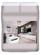 Fancy Bathroom Ensuite Duvet Cover