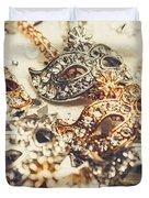 Fancy Dress Timepieces Duvet Cover