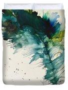 Fancy Feather Duvet Cover