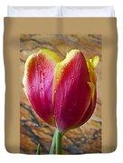 Fancy Tulip Duvet Cover