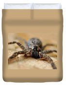 Spider Close Up Duvet Cover