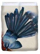 Fantail Flycatcher Duvet Cover