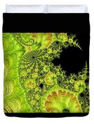 Fantastic Abstract On Black Duvet Cover