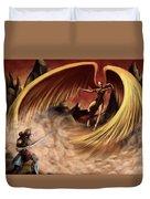 Fantasy Battle Duvet Cover