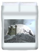 Fantasy Castle - 3d Render Duvet Cover