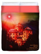 Fantasy Castle For Mandy Maxwell H A Duvet Cover