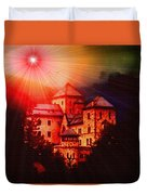 Fantasy Castle For Mandy Maxwell H B Duvet Cover