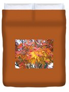 Fantasy Of Fall Duvet Cover