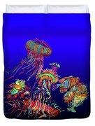 Fantasy Sea Life1 Duvet Cover