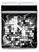 Fantasy Tiles Abstract Duvet Cover