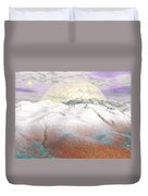 Fantasy Winter Landscape - 3d Render Duvet Cover