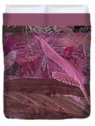 Fantasy With African Violets And Peace Lily 7 Duvet Cover