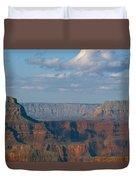 Far Off Canyon Duvet Cover