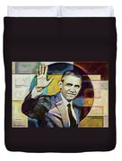 Farewell Obama V2 Duvet Cover
