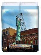 Fargo Theater Duvet Cover