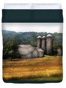 Farm - Barn - Home On The Range Duvet Cover