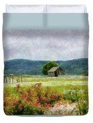 Farm - Barn - Out In The Country  Duvet Cover
