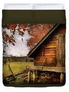 Farm - Barn - Shed Out Back Duvet Cover