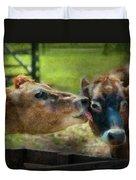 Farm - Cow - Let Mommy Clean That Duvet Cover