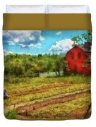 Farm - Farmer - Farm Work  Duvet Cover