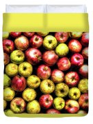 Farm Apples Duvet Cover