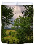 Farm Before The Storm Duvet Cover