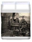 Farm Equipment Art Duvet Cover