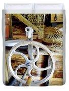 Farm Equipment Corn Sheller Duvet Cover