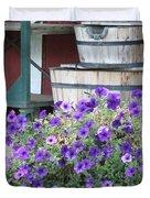 Farm Flowers Duvet Cover