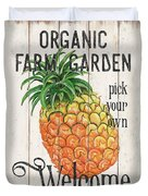 Farm Garden 1 Duvet Cover