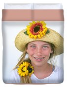 Farm Girl Duvet Cover