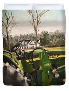 Farm In Chapel Hill Duvet Cover